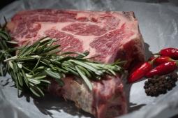 beef, cutlet, food, meat, raw, steak